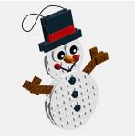Décors de Noël Platecraft_snowman_1